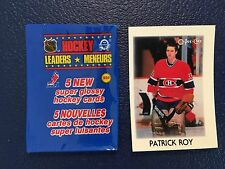 1987-88 OPC Mini #36  Patrick Roy HOF Canadiens  NM/MT  Pack Fresh!