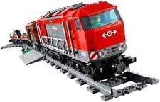 lego zug rot dieselmotor cargo lok mit motor city set 60098 neu