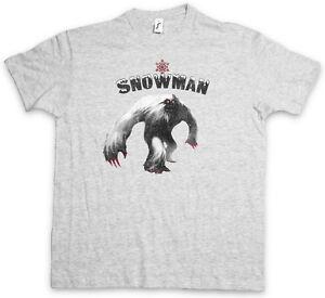 YETI II T-SHIRT Monster Bigfoot Creature Sasquatch Nepal Snowman Ape Big Foot