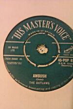 THE OUTLAWS AMBUSH / INDIAN BRAVE HMV POP 877 JOE MEEK ROCK POP CHAS HODGES EX+