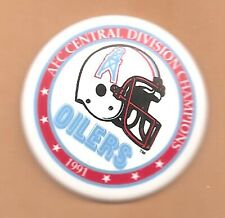 Houston Oilers 1991 AFC Central Division Champions Original Magnet