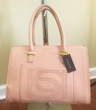 100% AUTHENTIC  NWT BEBE HOLLY SATCHEL PRAIRE SUNSET WOMENS HAND BAG MSRP $99