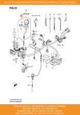 SUZUKI Switch Assy, Ignition, 37110-45G00 OEM