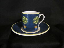 Royal Doulton - CARMINA LEMON TREE - Demitasse Cup & Saucer - BRAND NEW