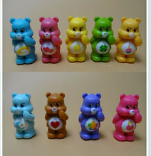 Lot of  9 cut Care Bears mini pvc Figures 5cm