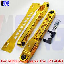 Rear Lower Control Arm Subframe Brace Kit For Mitsubishi Lancer EVO 1 2 3 4G63 R