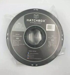 HATCHBOX ABS 3D Printer Filament 1 kg Spool, 3mm Silver