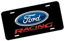 Ford Racing License Plate Automotive .40 Alum. Hi-Quality Full Color