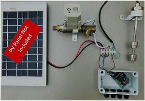 Solar Powered Electronic Header Tank (Solar Rex Red Circle Solar Ultimate Solar)