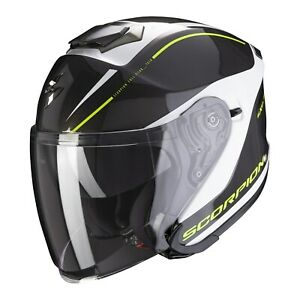 Scorpion EXO-S1 Shadow Motorcycle Jet Helmet Commuter City Urban Scooter Touring