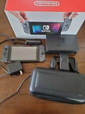 Nintendo Switch Gray   North America   Comes With Case & Box