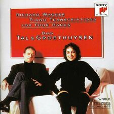 Duo Tal & Groethuyse - Wagner: Piano Transcriptions for Four Hands [New CD]