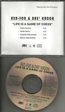 Lmfao RED FOO Life is a Game of Chess 4TRX REMIX & INSTRUMENTAL PROMO CD single