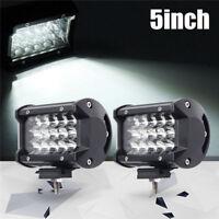 "144W 5"" Inch LED Car Work Light Bar Spot Beam SUV Boat Driving Offroad ATV Lamp"