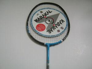 Karakal Badminton Racket BN-65 BN65 Lightweight Carbon 65 Gram Black Cover NEW