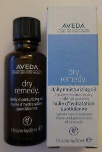 AVEDA Dry Remedy Daily Moisturizing Oil 30 ML/ 1 OZ NEW IN BOX