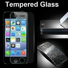 For iPhone 5C 5 5S  :: Very Strong Tampered Glass Protection Screen Protector ::