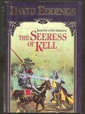 DAVID EDDINGS The Seeress of Kell. The Mallorean Book 5. Cheap hardcover in dj