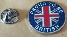 new design proud to be british union jack lapel badge united kingdom