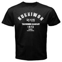 Kukkiwon Taekwondo Academy Korean martial arts - Custom Men's T-Shirt Tee