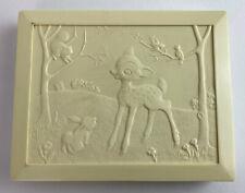 vintage Disney Bambi & Thumper Plastic Twinkies Clothes Box Nubone Co