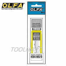 OLFA KB4-WS/3 3 saw blades for professional art knife in a plastic case AK-4 NEW