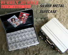 "1 x 1/6 Metal Briefcase SILVER For 12"" Phicen Hot Toys Barbie ☆SHIP FROM USA☆"