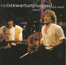 Unplugged...and Seated by Rod Stewart CD, May-1993, Warner - Like New Condition