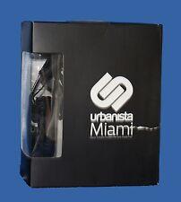 Urbanista Miami Classic foldable headphones with hand-free - black