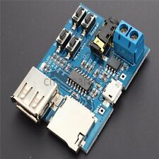 MP3 Lossless Decoder Board MP3 Audio Module Radio Player for TF/USB Flash Disk