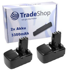 2x Akku 15,6V 3300mAh Power Battery für BST 15.6 BST 15.6+ Plus