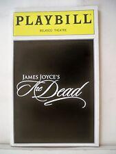JAMES JOYCE'S THE DEAD Playbill ALICE RIPLEY / EMILY SKINNER NYC 1999