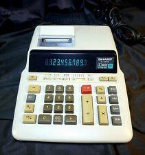 Sharp El-1197Gii Printing Office Calculator Adding Machine 10 Digit Display