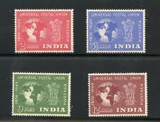 INDIA  1949 UPU   SCOTT #223/26   MINT HINGED