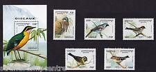 Cambodia - 1994 Birds - U/M - SG 1414-1418 + MS1419