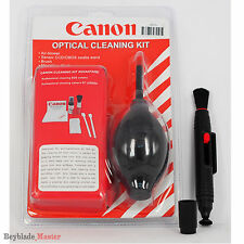 Black 7 in 1 Professional Lens Cleaning Kit+Lens Cleaning Pen Cleaner For Canon