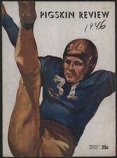 1946 Cal vs USC  Football Game Program