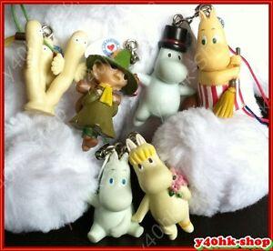 Moomin valley figure  for Mobile Phone bag keyring Charms