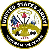 UNITED STATES Army Vietnam Veteran  Decal Window Bumper Sticker