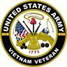 UNITED STATES Army Vietnam Veteran  Decal Window Bumper Sticker