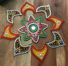 Beautiful Handmade Acrylic Star Diwali Rangoli