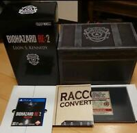 BIOHAZARD RE: 2 Z Version COLLECTOR'S EDITION PS4 Game Software Capcom Japan