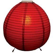 Levi Paper Table Lamp - Red  - BNIB