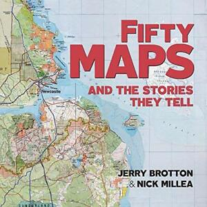 Fifty Maps and the Stories they Tell New Paperback Book
