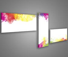 Quadri moderni astratti 180 x 70 stampe su tela canvas con telaio MIX-S_71