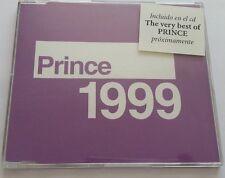 "PRINCE ""1999"" 2trk EU PROMO CD 1998 reissue with SPANISH info sticker"