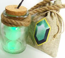 HEY LISTEN! Link Cosplay Fee in Flasche LED Grün Fairy The Legend of Zelda Navi