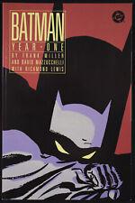 BATMAN: YEAR ONE Frank Miller David Mazzucchelli DC 1988 TPB 1st Printing