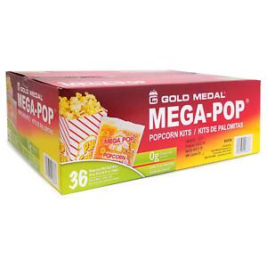 Gold Medal Mega Pop Popcorn Kit (6 oz. kit, 36 ct.) Free Shipping