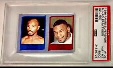 1986 PANINI SUPERSPORT FOIL MIKE TYSON RC *HOF* PSA 8oc (TOUGH VERSION) & GRADE